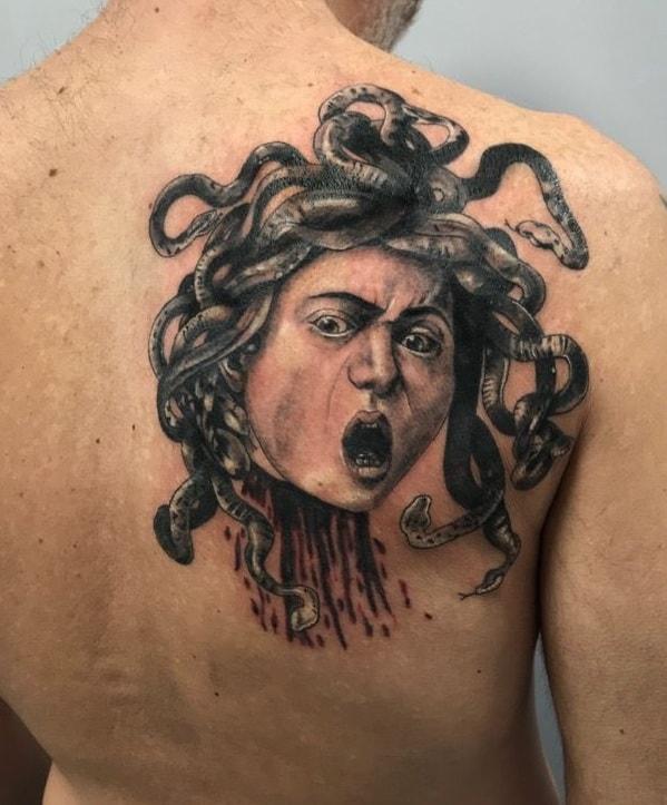 Caravaggio Medusa Tattoo