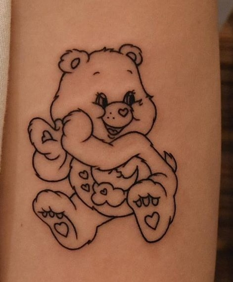 Care Bear Tattoo
