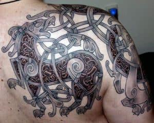 Celtic Lion Tattoo