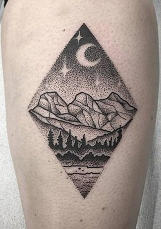 Dot-work Tattoo