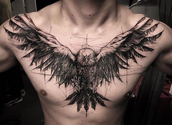 Eagle Sketch Tattoo