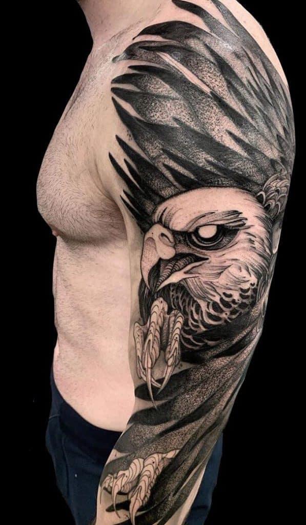 Eagle Tattoo on Arm