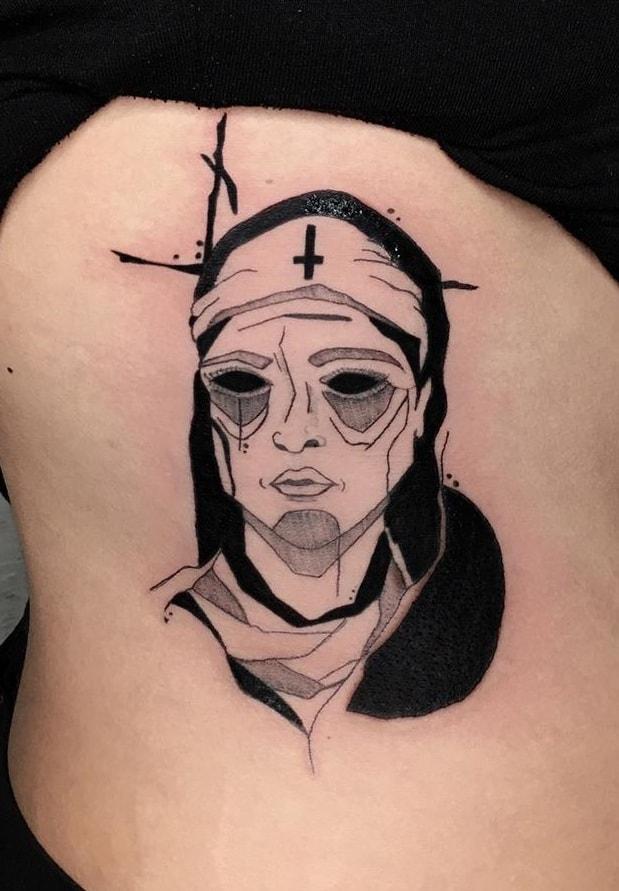 Evil Nun Tattoo