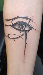 Eye of Horus Sketch Tattoo