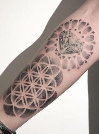 Flower of Life Tattoo