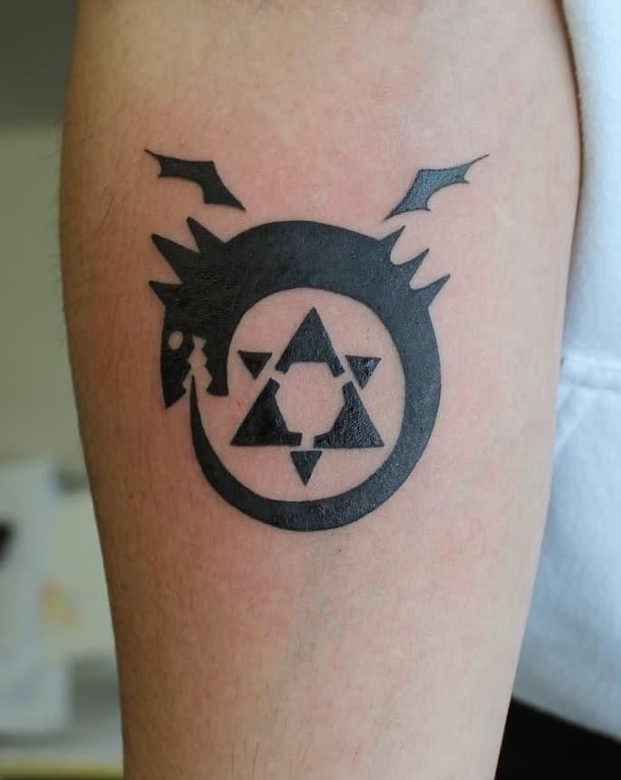 FMA Ouroboros Tattoo
