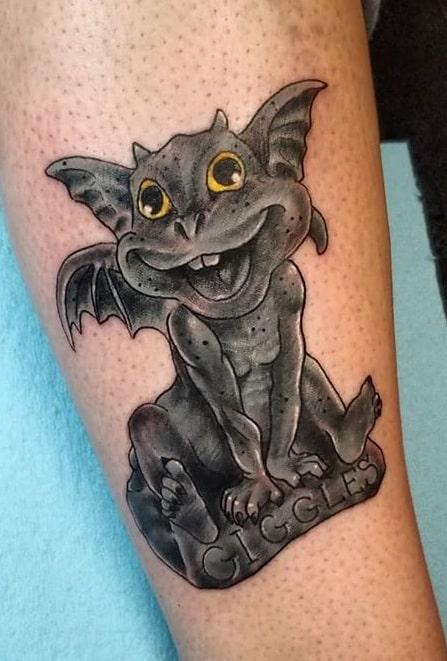 Gargoyle Statue Tattoo
