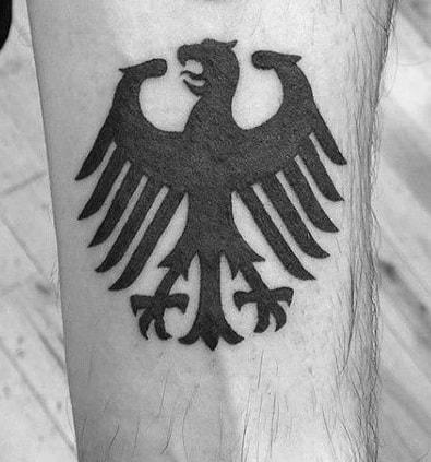 German Eagle Tattoo
