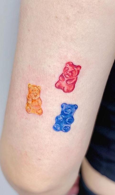 Gummy Bear Tattoo