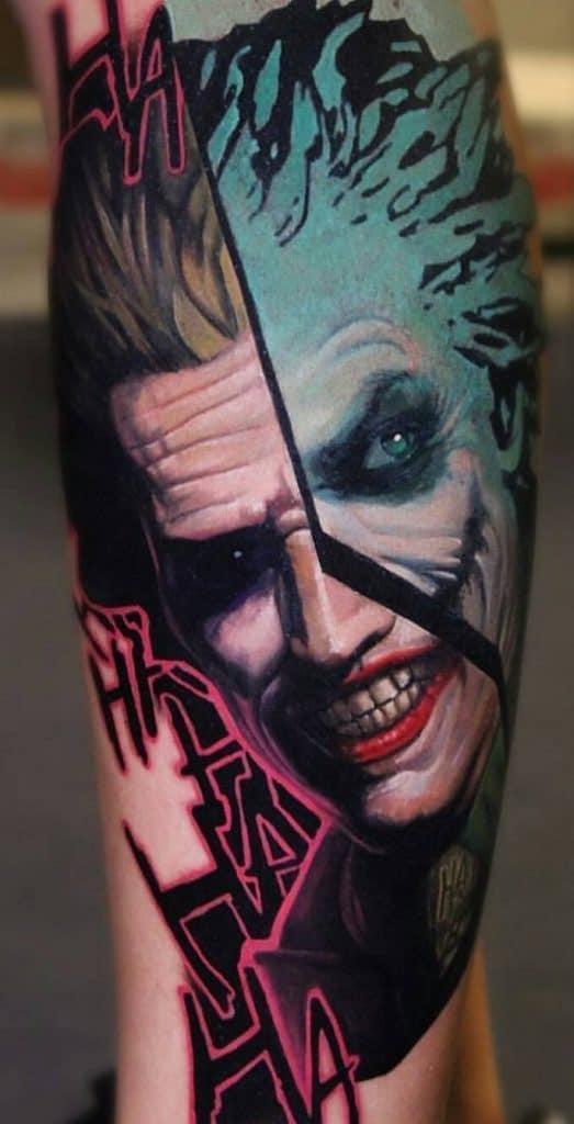 Hahaha Joker Tattoo