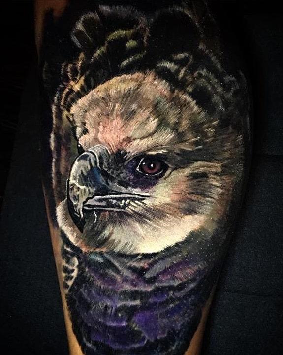 Harpy Eagle Tattoo