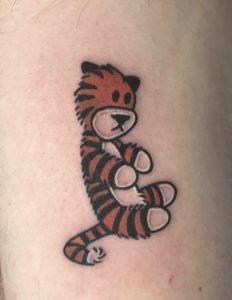 Hobbes Tiger Tattoo