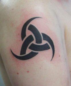 Horns of Odin Tattoo