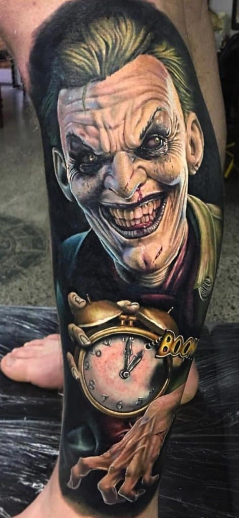 Horror Joker Tattoo