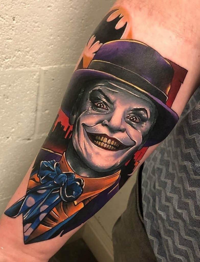 Illustrative Joker Tattoo
