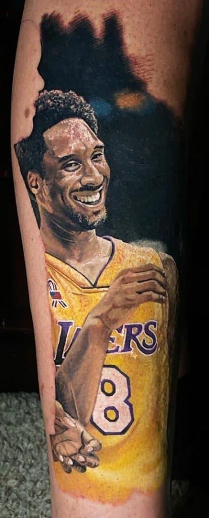 Illustrative Kobe Bryant Tattoo