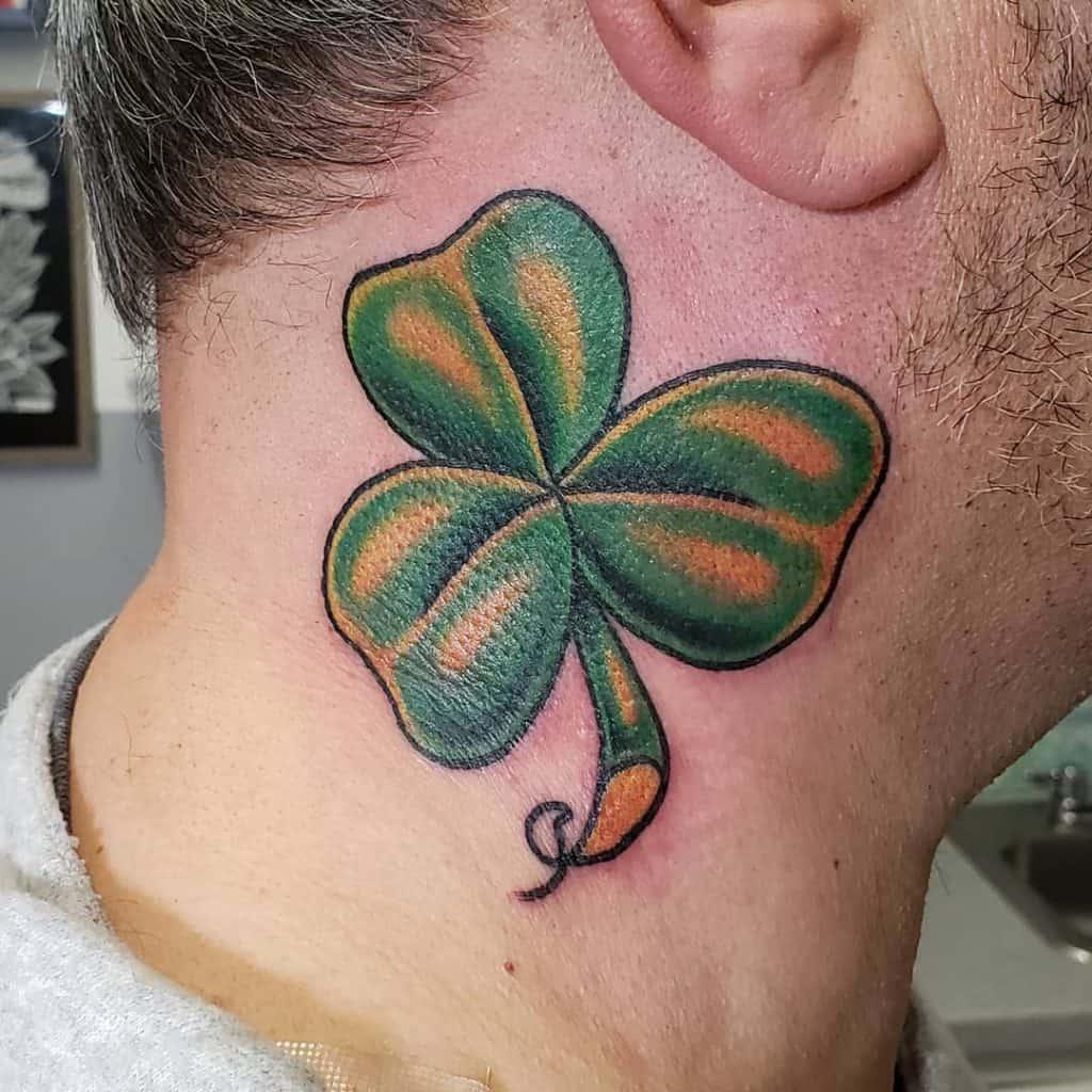 Illustrative Shamrock Tattoo