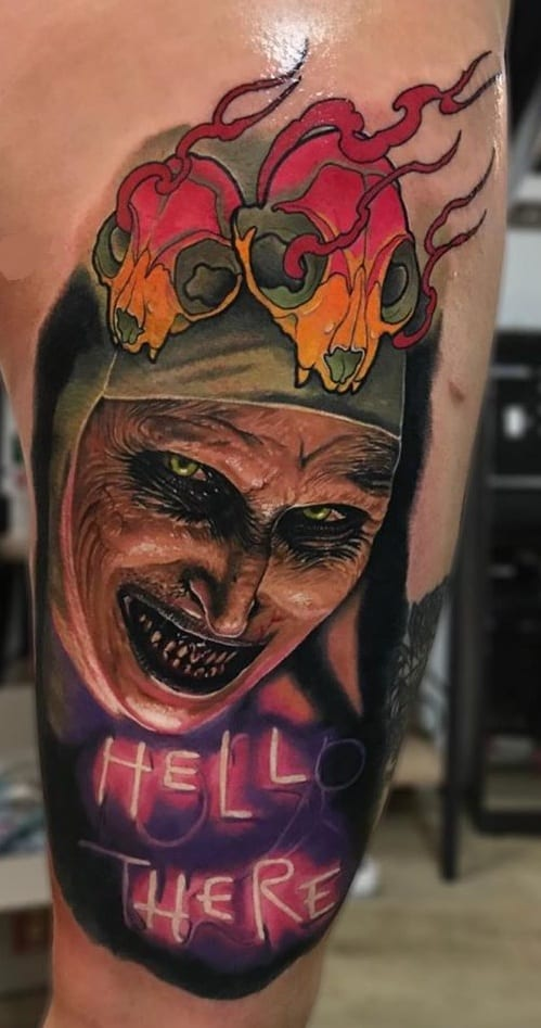 Illustrative Valak Tattoo