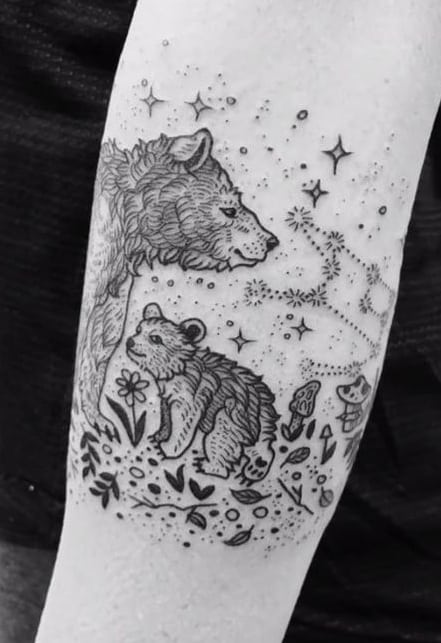Mama Bear Tattoo