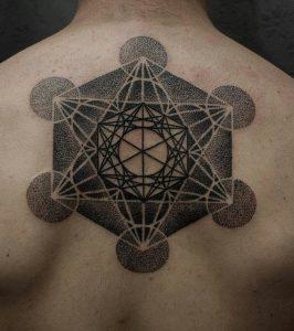 Metatron's Cube Tattoo