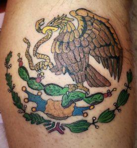 Mexican Eagle Tattoo