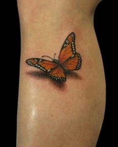 Monarch Butterfly Tattoo