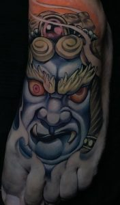 New School Fudo Myoo Tattoo