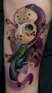 New School Jason Voorhees Tattoo