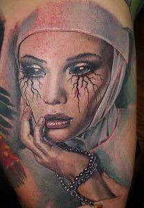 Nun Tattoo