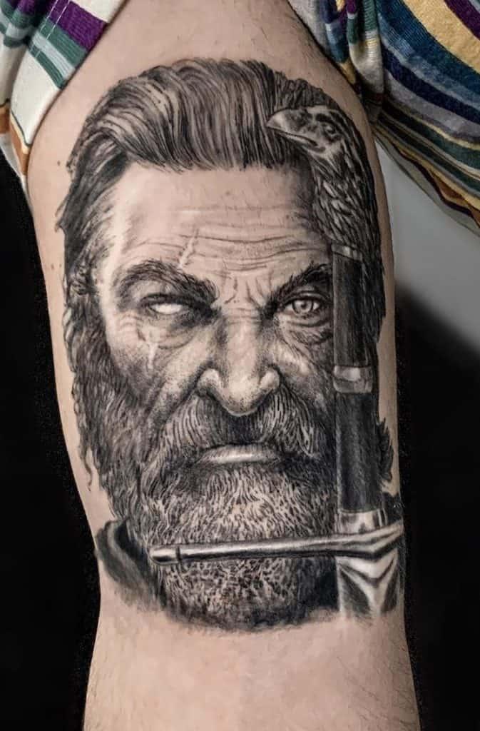 One-eyed Odin Tattoo