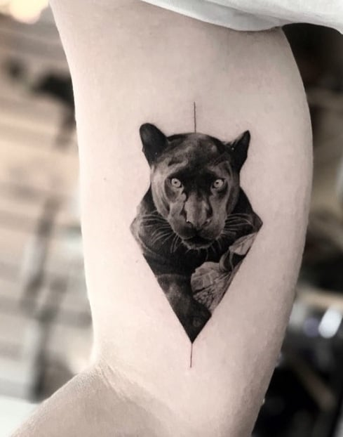 Panther Tattoo on Arm