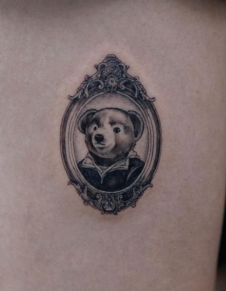 Polo Bear Tattoo