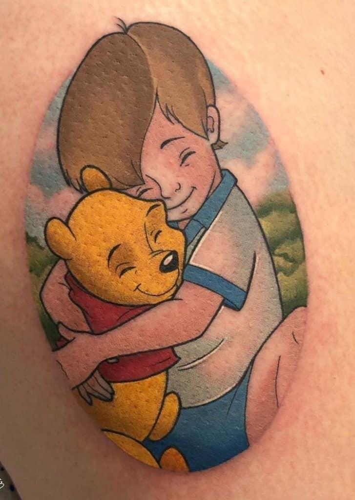 Pooh Bear Tattoo