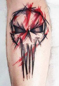 Punisher Skull Tattoo