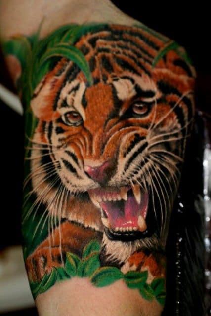 Roaring Tiger Tattoo