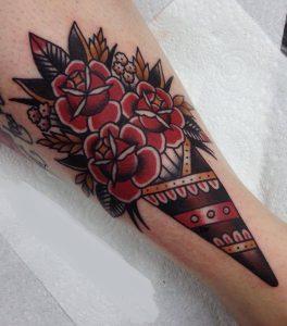 Rose Bouquet Tattoo