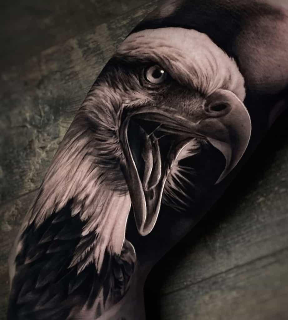 Screaming Eagle Tattoo