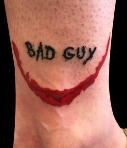 Simple Joker Tattoo