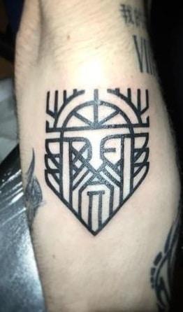 Simple Odin Tattoo