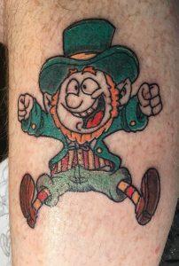 Small Leprechaun Tattoo