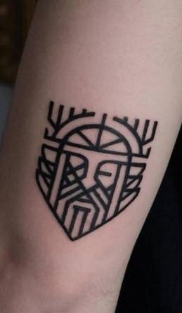 Small Odin Tattoo
