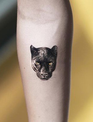 Small Panther Tattoo