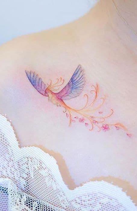 Small Phoenix Tattoo