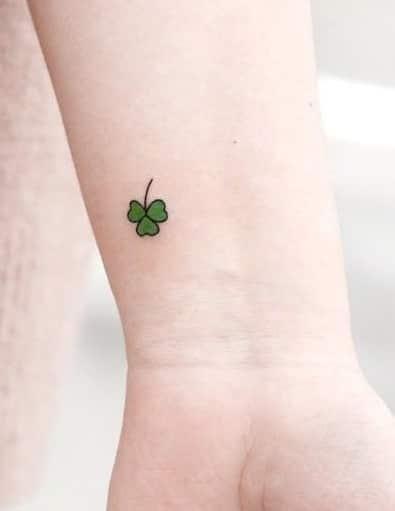 Small Shamrock Tattoo