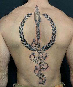 Spear of Odin Tattoo