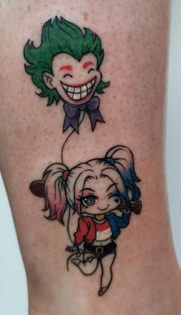 Harley Quinn Tattoos Meanings Tattoo Designs Ideas