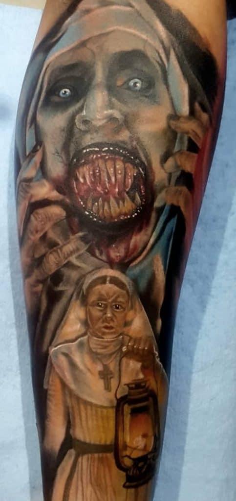 The Nun Tattoo
