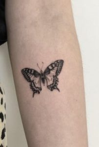 Tiger Swallowtail Butterfly Tattoo