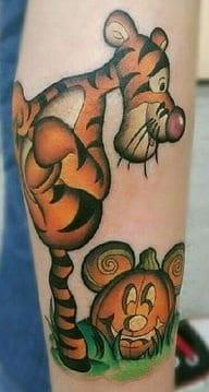 Tigger Tiger Tattoo