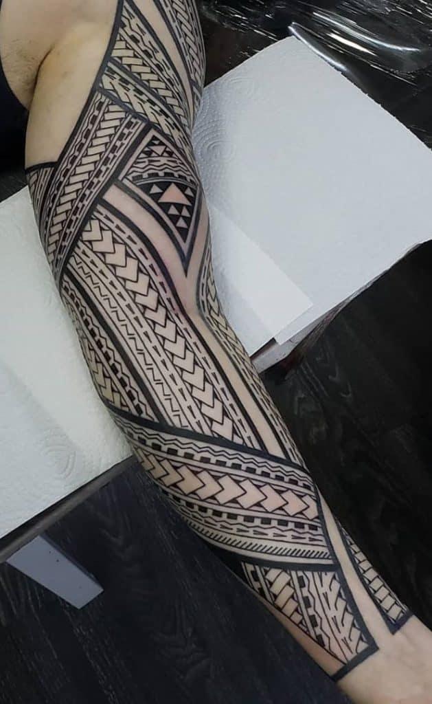 Tribal Tattoo Sleeve